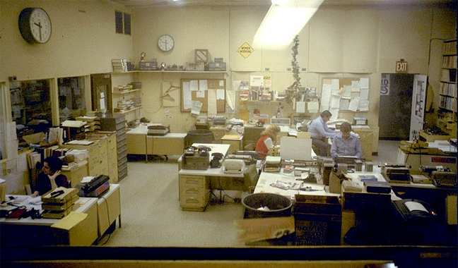 WNEW Newsroom 1978